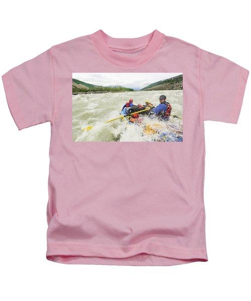 Rafters Running Lava North Rapid Kids T-Shirt