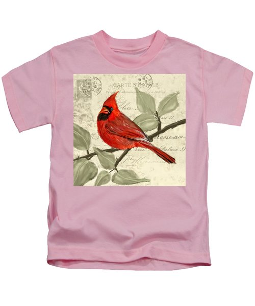 Red Melody Kids T-Shirt