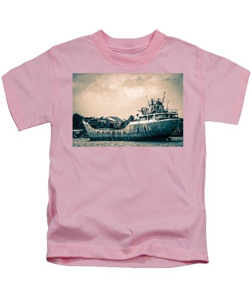 Rusty Ship Kids T-Shirt
