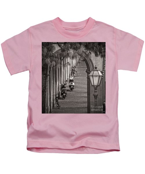 Scooters And Bikes Kids T-Shirt