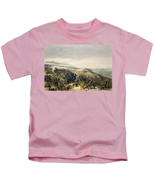 Second Charge Of The Guards Kids T-Shirt