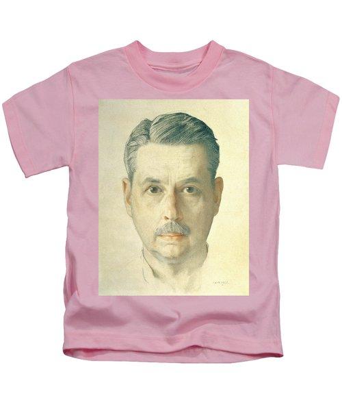 Self Portrait, 1921 Pencil On Paper Kids T-Shirt