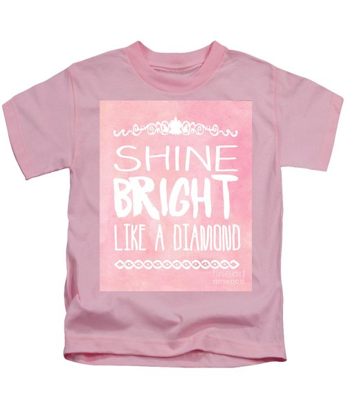 Shine Bright Kids T-Shirt by Pati Photography