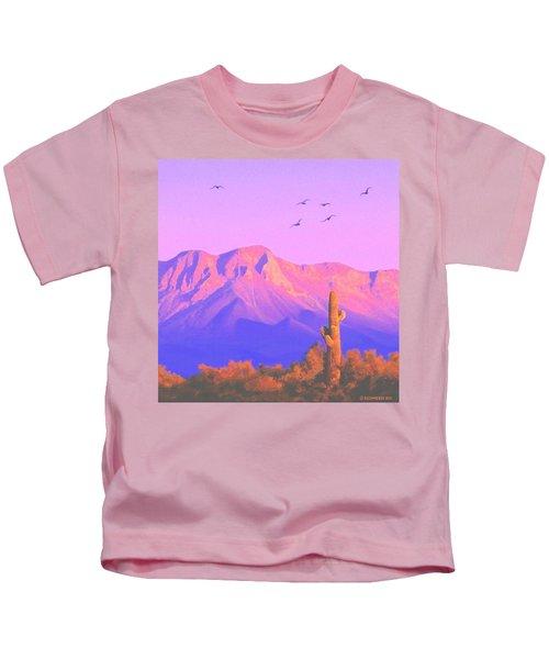Solitary Silent Sentinel Kids T-Shirt