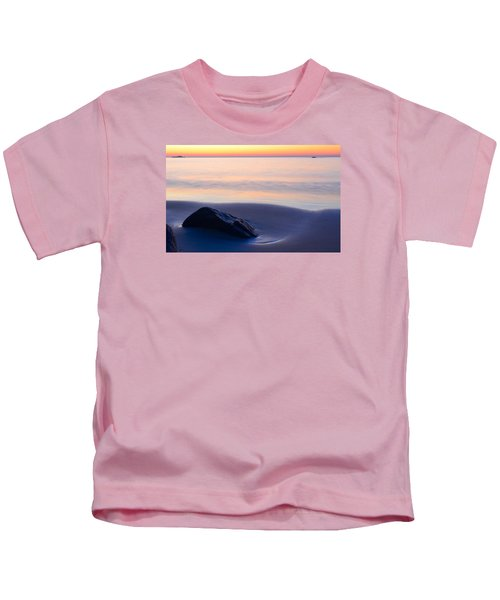 Solitude Singing Beach Kids T-Shirt