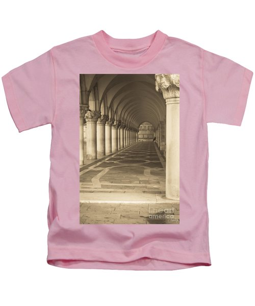 Solitude Under Palace Arches Kids T-Shirt