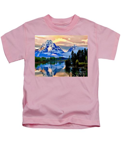 Some Place Some Where Kids T-Shirt