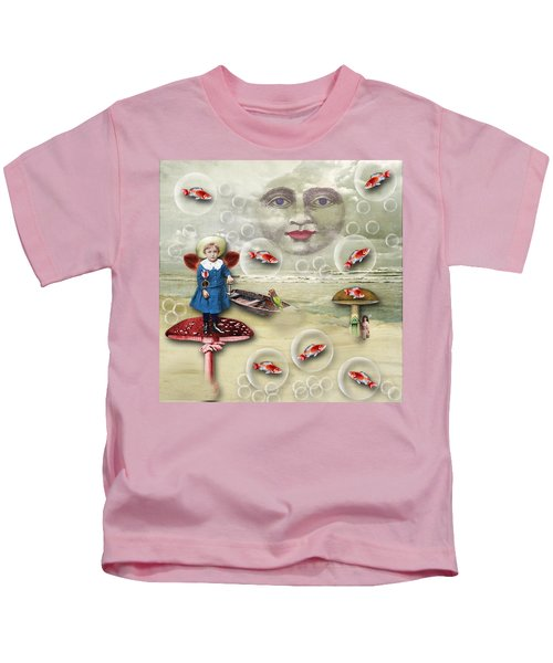 Something Fishy At The Shore Kids T-Shirt