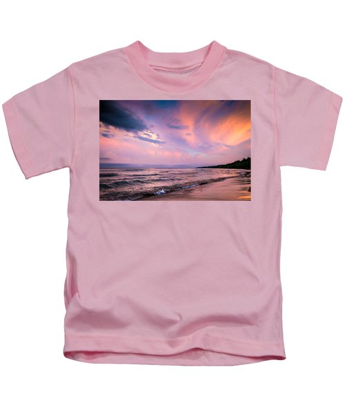 South Beach Clouds Kids T-Shirt