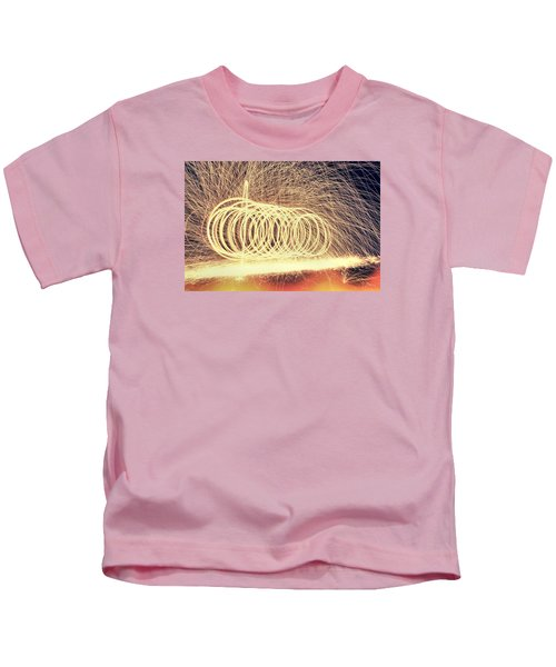 Sparks Kids T-Shirt by Dan Sproul