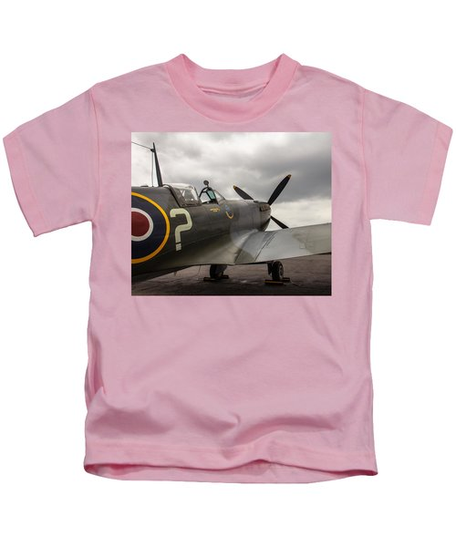 Spitfire On Display Kids T-Shirt