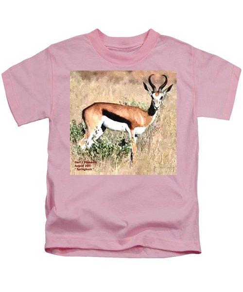 Springbuck H A Kids T-Shirt