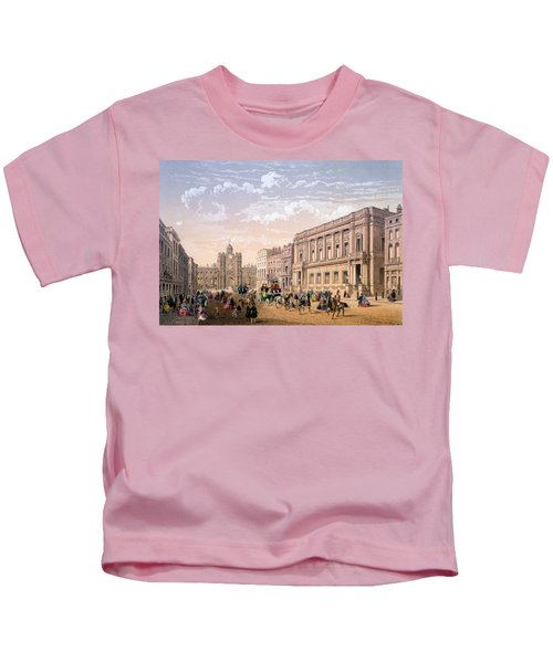 St James Palace And Conservative Club Kids T-Shirt