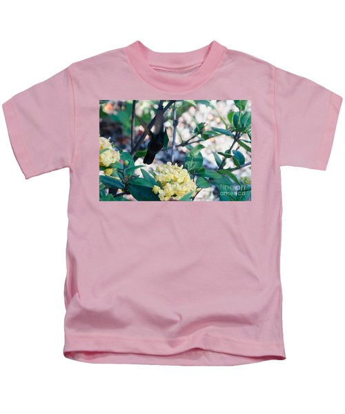 St. Lucian Hummingbird Kids T-Shirt