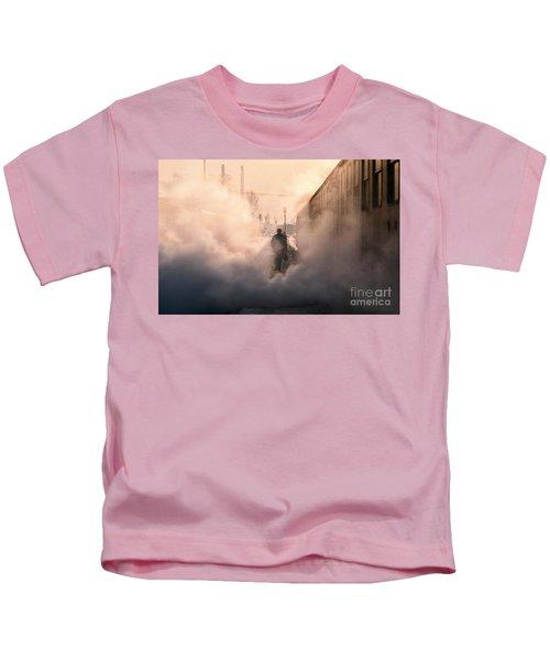 Steamy Station Kids T-Shirt