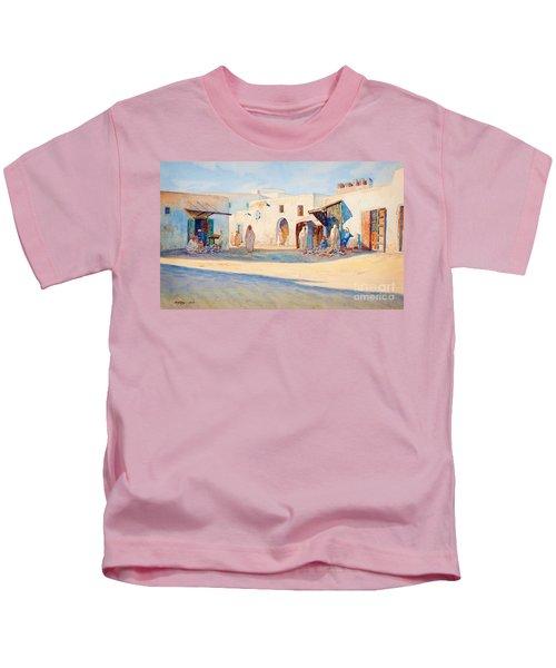 Street Scene From Tunisia. Kids T-Shirt