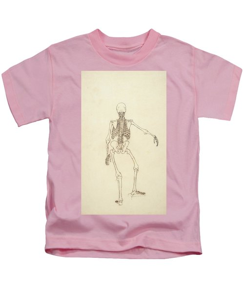 Study Of The Human Figure, Posterior View, From A Comparative Anatomical Exposition Kids T-Shirt