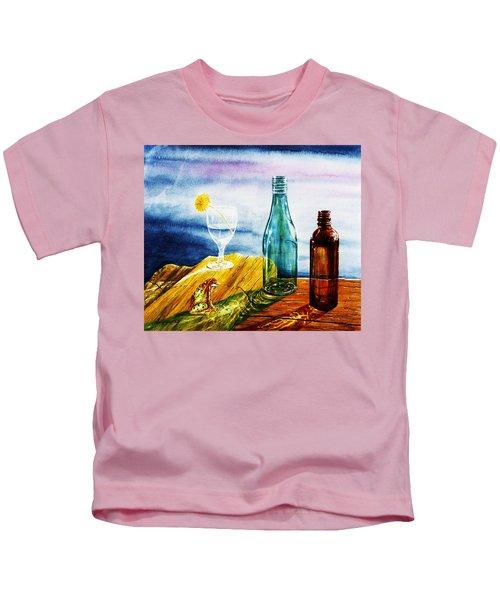 Sunlit Bottles Kids T-Shirt