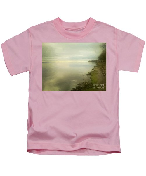 Sunset Before The Storm Kids T-Shirt