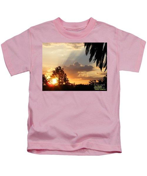Sunset Sonata 4 Kids T-Shirt