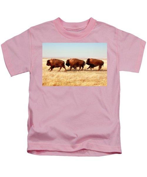 Tatanka Kids T-Shirt by Todd Klassy