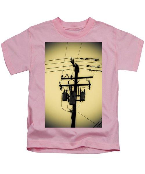 Telephone Pole 3 Kids T-Shirt