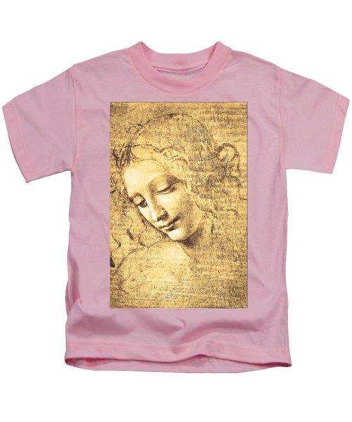 Testa Di Fanciulla Detta La Scapigliata Kids T-Shirt
