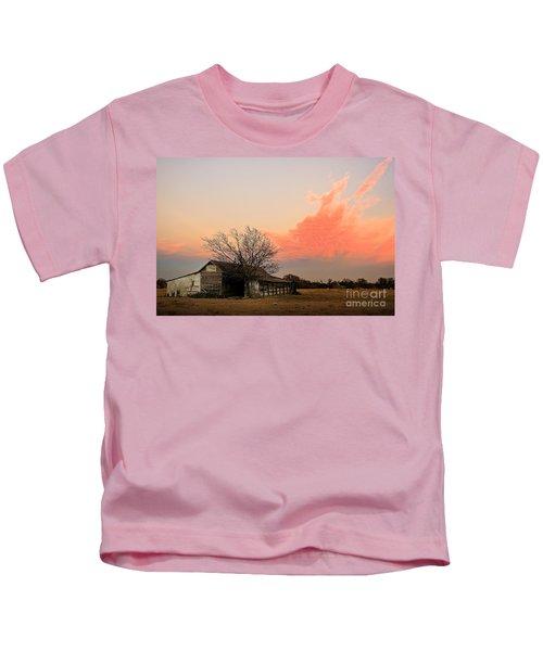 Texas Sunset Kids T-Shirt