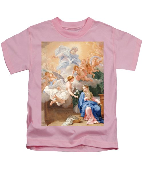The Annunciation Kids T-Shirt