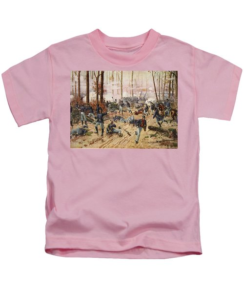 The Battle Of Shiloh April 6th-7th 1862 Kids T-Shirt