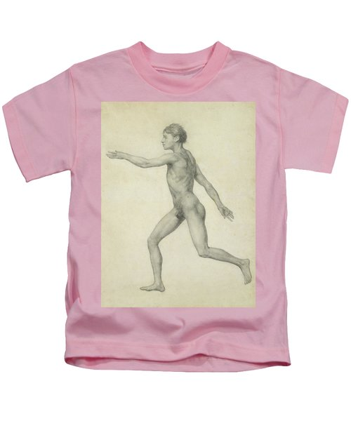 The Entire Human Figure From The Left Lateral View Kids T-Shirt