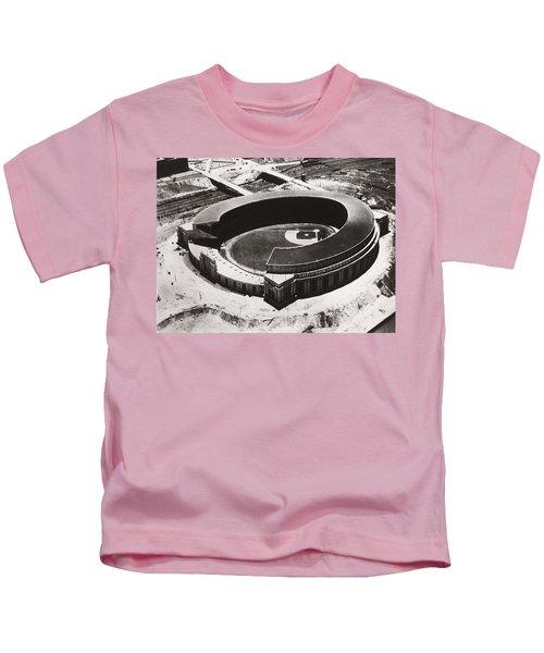 The New Cleveland Stadium Kids T-Shirt
