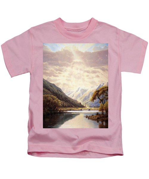 The Path Of Life Kids T-Shirt