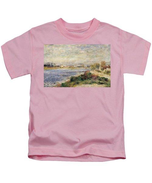 The Seine In Argenteuil Kids T-Shirt
