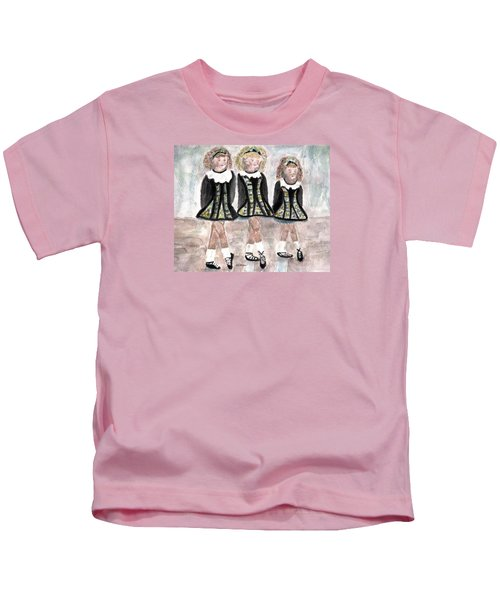 Three Irish Lasses Kids T-Shirt