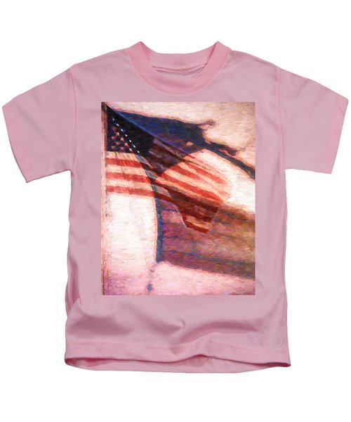 Through War And Peace Kids T-Shirt