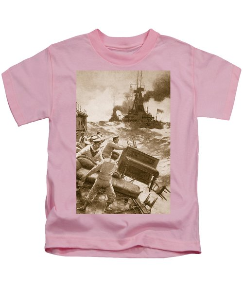 Throwing Overboard All Inflammable Luxuries When A Battleship Is Cleared For Action Kids T-Shirt
