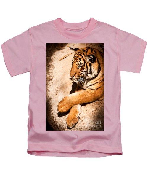 Tiger Resting Kids T-Shirt