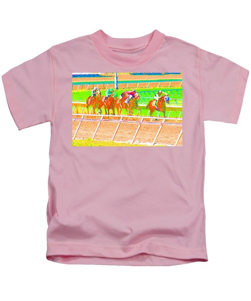 To The Finish Line Kids T-Shirt