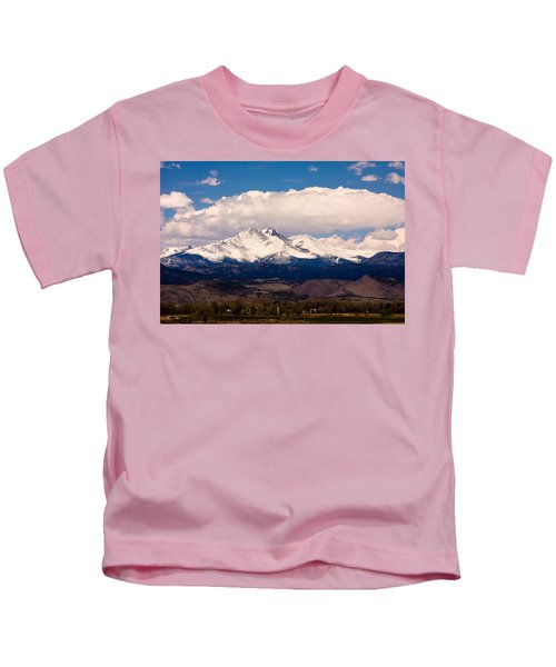 Twin Peaks Snow Covered Kids T-Shirt