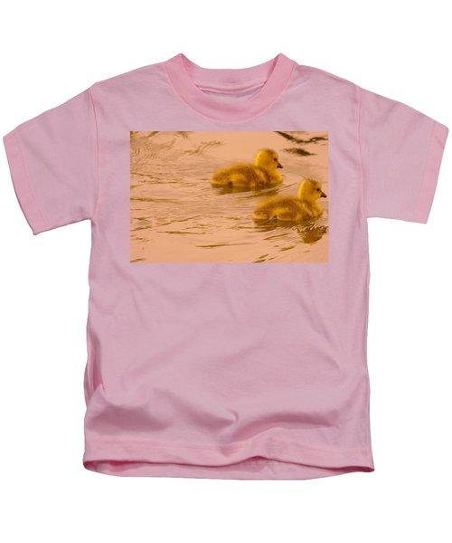 Two Little Furry Fuzzies Kids T-Shirt