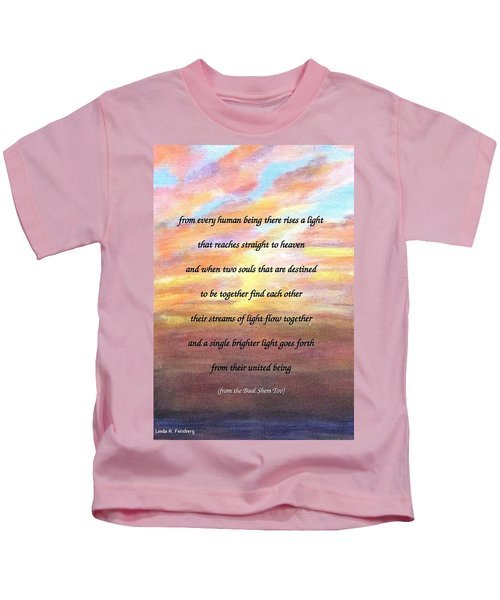 Two Souls Destined To Be Together Kids T-Shirt
