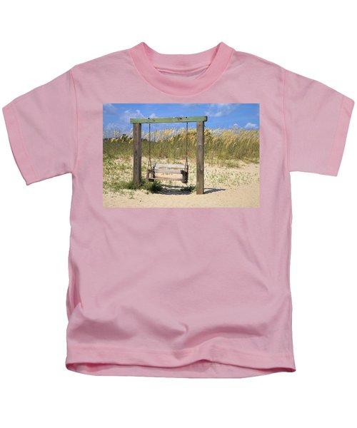Tybee Island Swing Kids T-Shirt