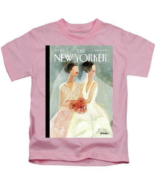 June Brides Kids T-Shirt
