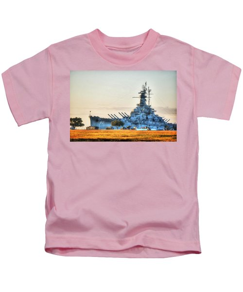 Uss Alabama Kids T-Shirt