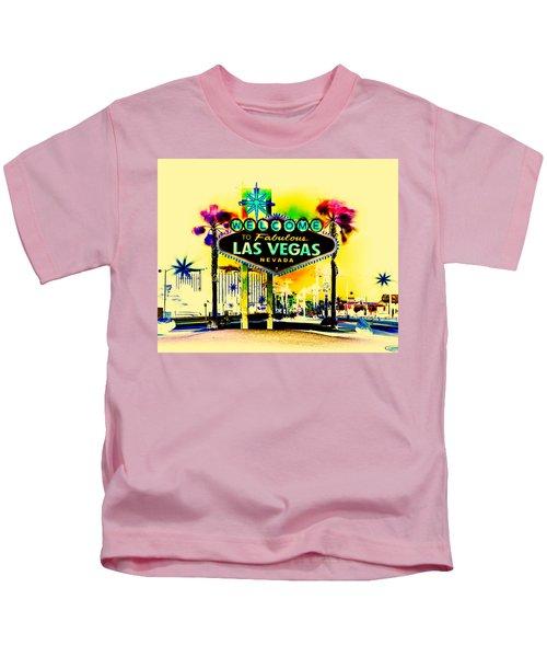 Vegas Weekends Kids T-Shirt