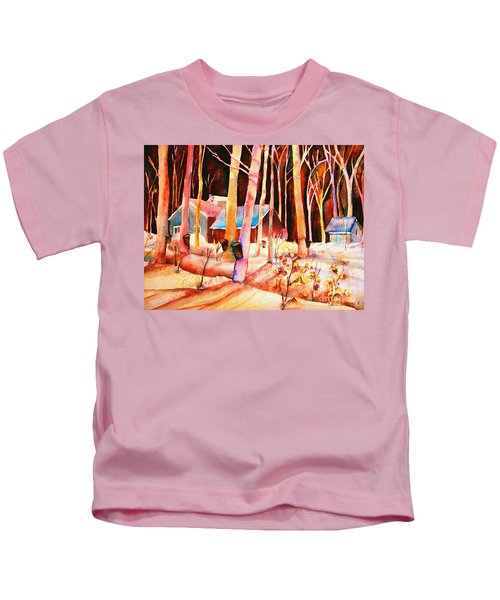 Vermont Maple Syrup Kids T-Shirt