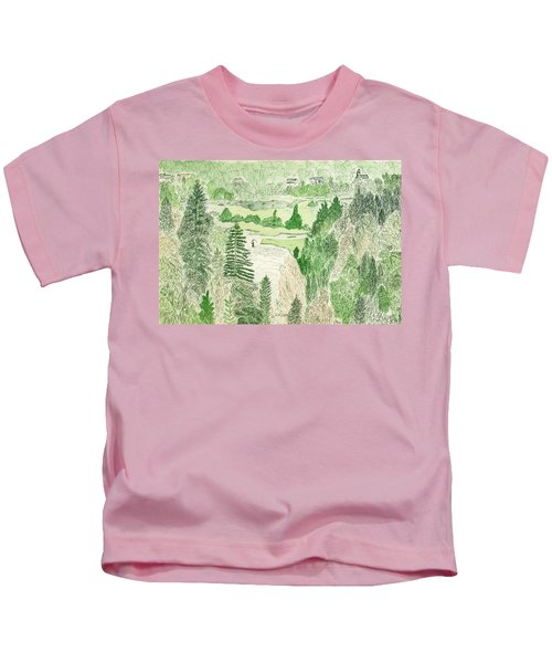 View From The Dam Kids T-Shirt
