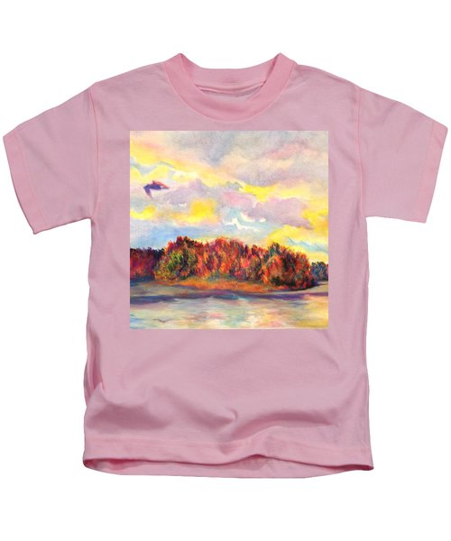 View Of Goat Island Kids T-Shirt