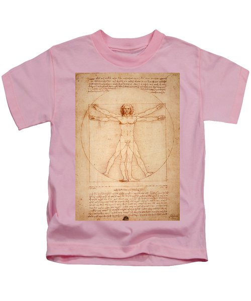 Vitruvian Man Kids T-Shirt